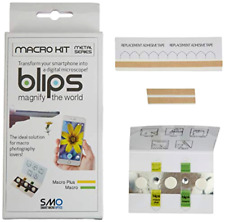 Blips Macro Kit Metal Series - Mini-Lenses Set for Smartphone Tablet iOS Android