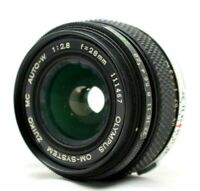 Olympus OM-System Zuiko MC Auito-W 1:2.8 28mm Lens *As Is* #XX81