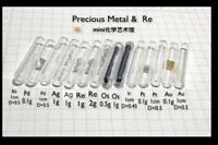 Glass seal precious metal  Rh Pd Ag Re Os Pt Au Ir