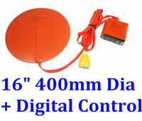 "16"" 400mm Diameter Round with Digital Controller JSRGO CE Silicone Heating Pad"