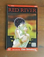 RED RIVER Volume 12 Chie Shinohara Viz Media manga Mature Content Shojo OOP Rare