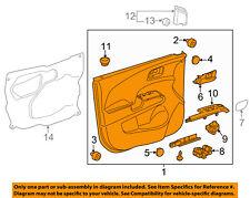 Chevrolet GM OEM 12-16 Sonic Front Door-Interior Trim Panel Right 95351409