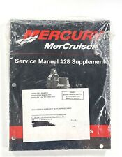 MerCruiser Mercury #28 Bravo Sterndrive Service Shop Repair Manual 90-863160030