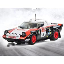 Scalextric Slot Car C3931 Lancia Stratos 1978 San Remo Rally-Markku Alen