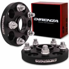 DIRENZA 5x114.3 NISSAN to 5x112 AUDI ALLOY HUBCENTRIC WHEEL PCD ADAPTERS PAIR