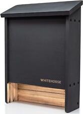 Whitehorse Premium Cedar Bat House - A 2-Chamber Bat Box That is Built to Last -