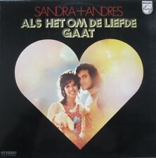 SANDRA & ANDRES - ALS HET OM DE LIEFDE GAAT - LP