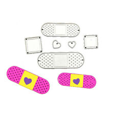 Band Aid Shape Metal Cutting Dies Stencil for Scrapbooking Album Embossing Cards