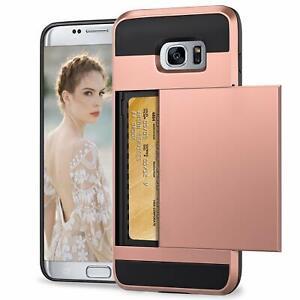 Vunake Case for Galaxy S7 Edge Case Card