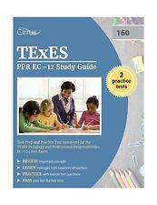 TEXES PPR EC-12 Study Guide: Test Prep and Practice Test Questi... Free Shipping