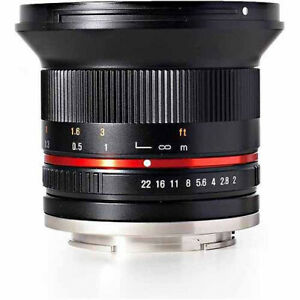 ROKINON RK12M-FX 12mm F2.0 NCS CS Ultra-Wide-Angle Lens for Fuji X Mount