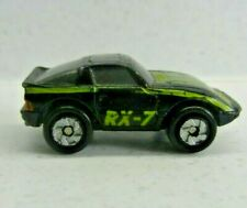 vintage 1986 galoob Micro Machines mazda rx-7 Car black & yellow RARE