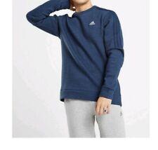Adidas Essential 3 Stripes Crew Neck Fleece Sweatshirt Mens Size: XL