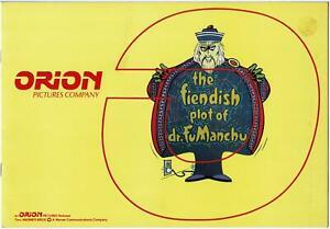 RARE 1980 ORION FIENDISH PLOT of DR. FU MANCHU PRESS BOOK, PETER SELLERS, MIRREN
