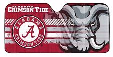NCAA Alabama Crimson Tide Deluxe Universal Fit Auto Windshield Sun Shade