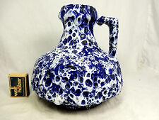 "Beautiful glazed 70´s design ES Keramik Emons & Söhne "" Fat Lava "" vase  20 cm"