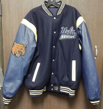 JH Design NCAA UCLA Bruins Reversible Varsity Jacket XL Wool Leather Polyester