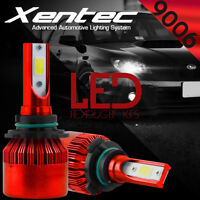 XENTEC LED HID Headlight kit 9006 White for 1992-1999 Chevrolet K1500 Suburban