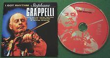 Stephane Grappelli I Got Rhythm inc Body & Soul & I Saw Stars + CD