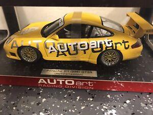 AUTOart Porsche 911 (996) GT3 Cup AUTOart Livery (80675) *NIB LIMITED EDITION*
