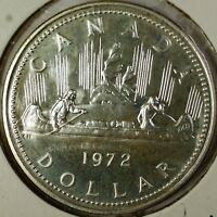 1972 Canada Proof Like Silver Dollar $1 Centennial Coin