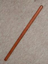 WW1 Rare English Military Tan Cladded Leather Swagger Stick