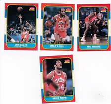 1986 Fleer Team SET Lot of 4 Cleveland CAVALIERS NM+ World B FREE TURPIN (R)