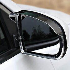 For Jeep Compass 2017 2018 mk2 Chrome Rearview Side Mirror Sun Rain Visors Cover