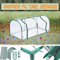 Walk-In Greenhouse Tunnel Plant Outdoor Garden Grow Shed Plant Green House Frame