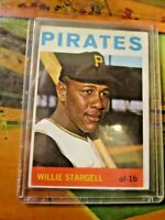 1964 Topps Willie Stargell Pittsburgh Pirates #342~