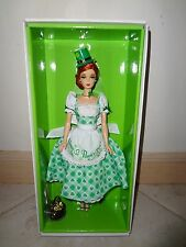 BARBIE HOLIDAY HOSTESS SHAMROCK DOLL 2015 NRFB WITH SHIPPER