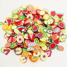 1000 pezzi nail art frutta decorazioni unghie fimo cocomero estate 2015 !