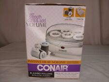 Conair Instant Heat Volume Hair Rollers -- 5 Jumbo Rollers -- Model TS7X -- NOB