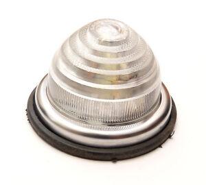 Flush Fitting Clear Marker Lamp (Festoon) 12v5w Plastic Lens *U.K. Made*