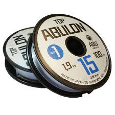 Abu Garcia TOP ABULON Mono Fishing Line-100m x 2-spools(UNCUT) 0.15mm / 4.19 lbs
