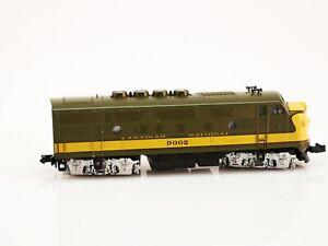 N Scale - Kato USA - 176-076 - Locomotive, Diesel, EMD F3 CN 9002