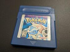Pokemon Blue Version Nintendo Game Boy Original EXMT cond saves authentic
