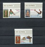 S12274) Guinea MNH New 1969, Olympic Games 3v Am Imperforated