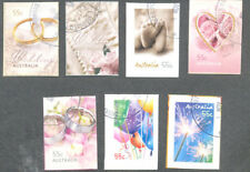 "Australia-2008 ""For Every Occasion"" set of 7 self-adhesives scarce fine used cto"