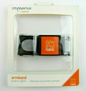 Immerse From Griffin IPOD NANO ARMBAND GB01923 - Black New Sealed