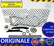 KIT DISTRIBUZIONE CATENA RINFORZATO 13PZ ORIGINALE LANCIA YPSILON 1.3 MULTIJET