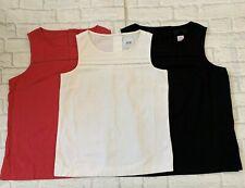BNWOT Ladies Next Linen Top Sizes 6 8 10 12 14 16 Red Black White Navy