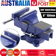"6"" Inch 150mm Heavy Duty Mechanic Workshop Table Bench Vice Grip Clamp Metal AU"