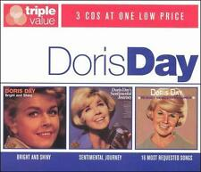 Bright & Shiny/Sentimental Journey/16 Most Requested by Doris Day (CD,..NEW RARE