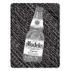 New Modelo Especial Beer Fleece Throw Gift Blanket Cerveza Bottle Label Logo NIP