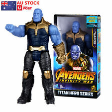 "AU 12"" Marvel Avengers Infinity War Titan Hero Series Thanos Action Figure Toys"