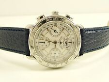MAURICE LACROIX 30586 MASTERPIECE AUTOMATIC CHRONOGRAPH GANGRESERE MEN WATCH RAR