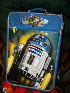"""American Tourister Disney Star Wars R2D2 18"""" Upright Soft Side Suitcase New"""
