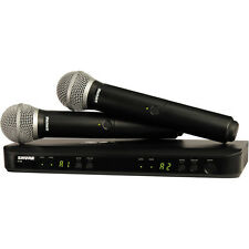 Shure BLX288/PG58 Dual-Transmitter Handheld Wireless System with 2 PG58 Mics