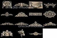 3D STL Models for CNC Router Engraver Carving Artcam Aspire Decor Wood 192
